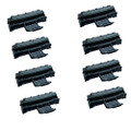 8 Black Toner Cartridges For Samsung ML2010R ML2510 ML2570 ML2571 ML2571N