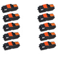 10 Black Compatible Toner Cartridges For Kyocera FS-1030MFP