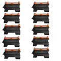 10 Black Toner Cartridges For Brother DCP-7055 HL-2130 HL-2132