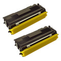 2 Black Toner Cartridges For Brother HL-2035 HL-2037