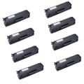 8 Black Toner Cartridges For Samsung MLT-101 ML-2160 ML-2165 ML-2165W ML-2168
