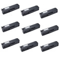 9 Black Toner Cartridges For Samsung MLT-101 ML-2160 ML-2165 ML-2165W ML-2168