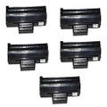 5 Black Toner Cartridges For Samsung MLT-D1042S ML1660 ML1665 ML1670 ML1675