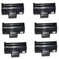 6 Black Toner Cartridges For Samsung MLT-D1042S ML1660 ML1665 ML1670 ML1675