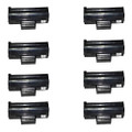 8 Black Toner Cartridges For Samsung MLT-D1042S ML1660 ML1665 ML1670 ML1675