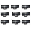 9 Black Toner Cartridges For Samsung MLT-D1042S ML1660 ML1665 ML1670 ML1675