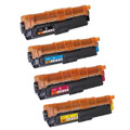 Set of 4 Toner Cartridges For Brother TN-241 DCP-9020CDW HL-3140CW HL-3150CDW