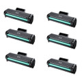 6 Black Toner Cartridges For Samsung MLT-D111S 2070W M2070