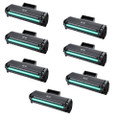 7 Black Toner Cartridges For Samsung MLT-D111S 2070W M2070