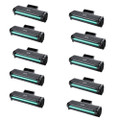 10 Black Toner Cartridges For Samsung MLT-D111S 2070W M2070