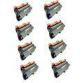 8 Black Toner Cartridges For Brother TN3380 HL6180DW HL6180DWT MFC8510DN