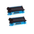 2 Cyan Toner Cartridge for Brother TN230 MFC 9120CN 9320CW