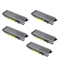 5 Black Toner Cartridges For Brother TN-4100 HL-6050 HL-6050D HL-6050DN HL-6050DW