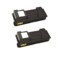 2 Black Toner Cartridge For Kyocera TK-350 FS-3640MFP FS-3920DN