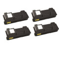 4 Black Toner Cartridge For Kyocera TK-350 FS-3640MFP FS-3920DN