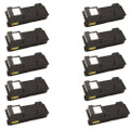10 Black Toner Cartridge For Kyocera TK-350 FS-3640MFP FS-3920DN