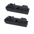 2 Black Toner Cartridges For Kyocera TK-18 FS-1020DN FS-1118MFP KM-1815 KM-1820