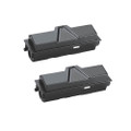 2 Black Toner Cartridge For Kyocera TK-140 FS-1100