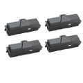 4 Black Toner Cartridge For Kyocera TK-140 FS-1100