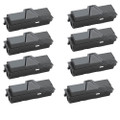 8 Black Toner Cartridge For Kyocera TK-140 FS-1100