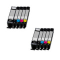 10 Compatible Ink For Canon Pixma PGI570XL/CLI571XL MG6850 MG6851 MG6852 MG6853 TS6052 TS6051 TS5050
