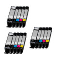 15 Compatible Ink For Canon Pixma PGI570XL/CLI571XL MG6850 MG6851 MG6852 MG6853 TS6052 TS6051 TS5050