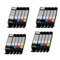 20 Compatible Ink For Canon Pixma PGI570XL/CLI571XL MG7750 MG7751 MG7752 MG7753 TS5055 TS5053 TS5051