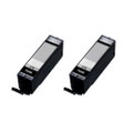 2 Black Ink Cartridges For Canon Pixma PGI570XL MG6850 MG6851 MG6852 MG6853