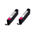 2 Magenta Ink Cartridges For Canon Pixma CLI571XL MG5750 MG5751 MG5752 MG5753