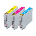 3 Compatible Ink for Epson XP-325 402 405 405WH 412 415 422 425 18XL (C/M/Y)