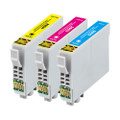 3 Compatible Ink for Epson XP-235 245 247 332 335 342 345 432 435 442 445 29XL (C/M/Y)