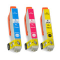 3 Compatible Ink for Epson XP-55 750 760 850 860 950 960 24XL (C/M/Y)