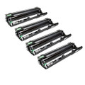 Set of 4 Compatible Drum Unit For Brother DCP-9015CDW DCP-9020CDW HL-3140CW HL-3150CDW HL-3170CDW MFC-9140CDN MFC-9330CDW MFC-9340CDW