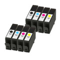 8 Remanufatured Ink Cartridges For HP 903XL Officejet Pro 6950 6960 AiO