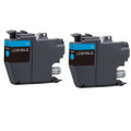2 Cyan Compatible Ink Cartridge for Brother MFC-J5330DW J5335DW J5730DW J5930DW J6530DW J6930DW J6935DW (LC3219XLC)