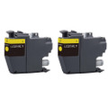 2 Yellow Compatible Ink Cartridge for Brother MFC-J5330DW J5335DW J5730DW J5930DW J6530DW J6930DW J6935DW (LC3219XLY)