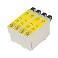 4 Yellow Compatible Ink for Epson Stylus CX4300 D120 D5050 DX400 DX4000 DX7000F T0714