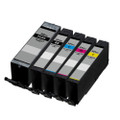 5 Compatible Ink Cartridge for Canon Pixma TR7550 TR8550 TS6150 TS6151 TS8150 TS8151 TS8152 TS9150 TS9155 (PGI-580XXL/CLI-581XXL)