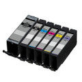 6 Compatible Ink Cartridge for Canon Pixma TS8150 TS8151 TS8152 TS9150 TS9155 (PGI-580XXL/CLI-581XXL)