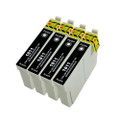 4 Black Ink Cartridge For Epson XP-402 XP-405 XP-405WH XP-412 XP-415 XP-30 T1811