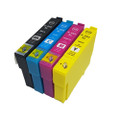 Set of 4 Compatible Ink for Epson WorkForce WF-2860DWF WF-2865DWF XP-5100
