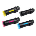 Set of 4 Compatible Toner Cartridge for Xerox 6510 6510DN 6510DNI 6510N 106R034