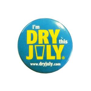 Dry July Badge