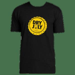Dry July Mens Bottle Cap T-Shirt