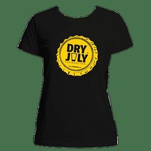 Dry July Ladies Bottlecap T-Shirt