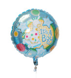 """It's a boy!"" Air-Filled 18"" Balloon on a Stick"