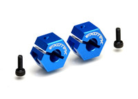 DR10 REAR CLAMPING HEX, 7075 1 pair