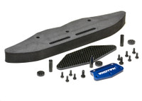 SLASH DRAG BUMPER SET, alloy, cf and foam