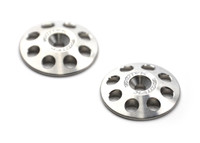 1/8 XL WING BUTTONS, TITANIUM (2)