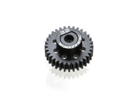 FLITE 32t 48p PINION, black pom w/ alloy collar